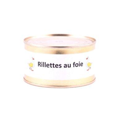 Rillettes au foie gras - La Ferme de la Majeunie