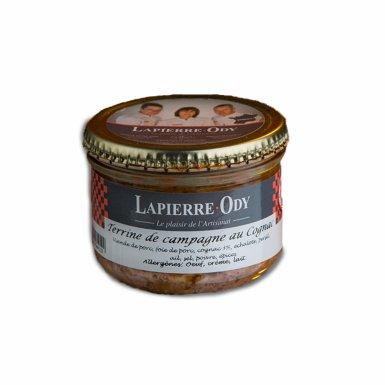 Terrine de campagne au cognac - Lapierre-Ody
