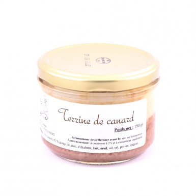 Terrine de canard - Ferme du Cluzeau