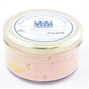 Bloc de foie gras de canard avec morceaux (mi-cuit)