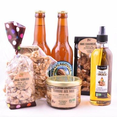 Gourmandises aux noix - La Franquette