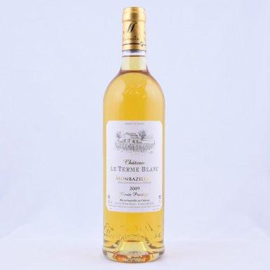 AOC Monbazillac millésime 2009 – Cuvée prestige - Château le Terme blanc