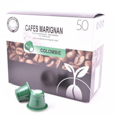 Capsules de café de Colombie - Torréfaction Marignan