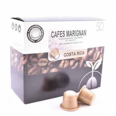 Capsules de café du Costa Rica - Torréfaction Marignan