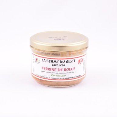 Terrine de boeuf  - Ferme du Gilet - GAEC Jean