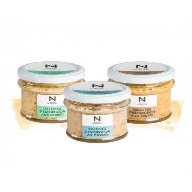 Le Trio de Rillettes - Caviar de Neuvic