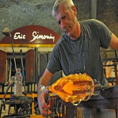 Éric Simonin, souffleur de verre