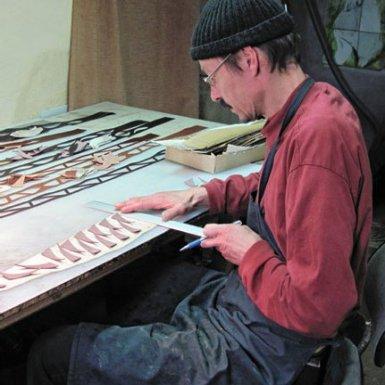 Kristof Mascher, artisan-créateur-maroquinier